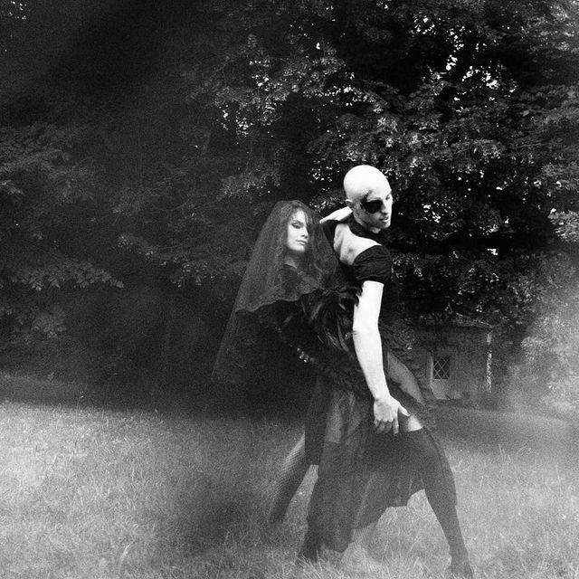 Witches dance  • • • • • #dance #nature #wild #blackandwhite #photography #couple #dancing #freedom #body #model #witch #dark  #fashion