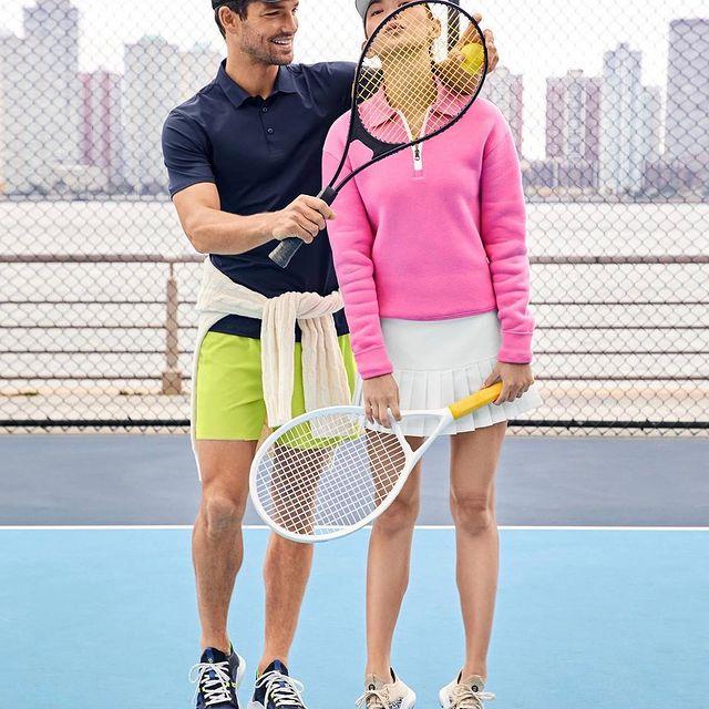 Loving tennis season 🎾🎾🎾 Shot by @taomeitao  Styled: @tracey_nicholson  Hair: @owengould  Makeup: @royliumakeup  Booking: @samdoerfler74 @fordmodels  For @colehaan