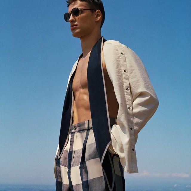 Giorgio Armani summer shoot in Genova  #armani#giorgioarmani
