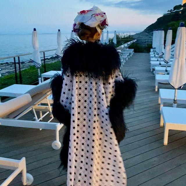 In Dolce&Gabbana again thanks to my @frantzfassbender 🖤🖤 The team @eden_valenski @mathieulnl 🖤🖤