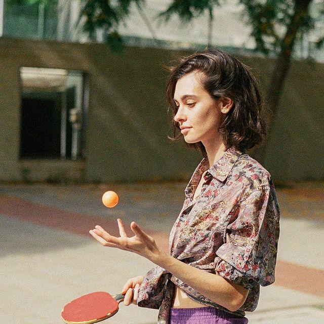 Otro de mis hobbies: mover cosas con la mente. Útil para ping pong 💫
