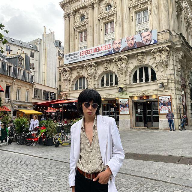 Back to Paris again 🇫🇷👍  #france #paris #model #asian #japanese #malemodel #asianmodel #japanesemodel #asianlivesmatter #fashion #vintage