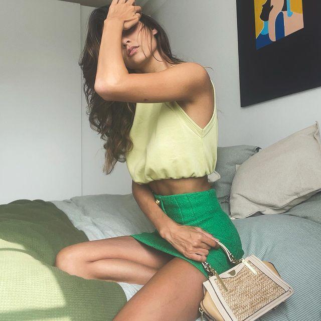 On Fridays we wear green 🔋🥑🍀💚