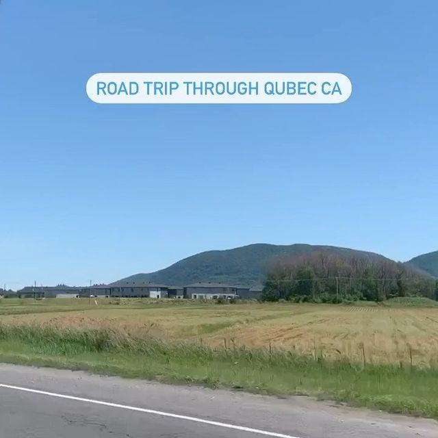 Road trip through Quebec 🕺