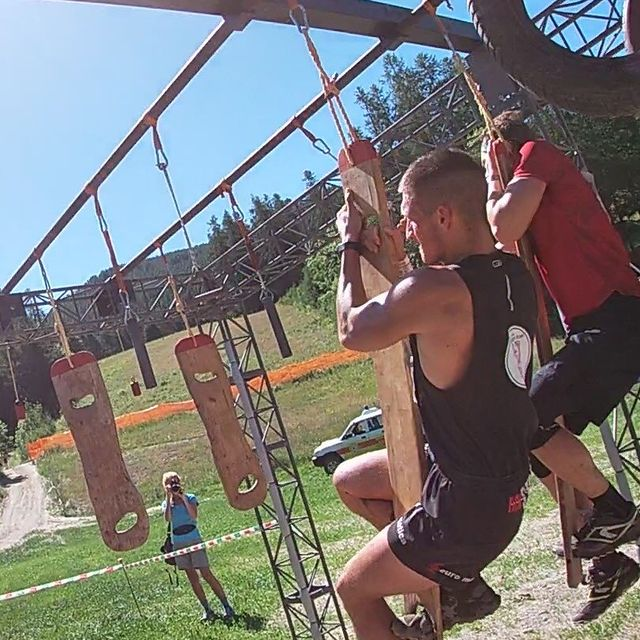 @warriorraceitalia  is an ORC competition. i did it with my friend @cliviodavide in the north of Italy in #bardonecchia #ocr #warriorrace