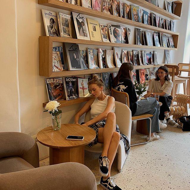 one of my fav coffee shops in Petersburg 🤍