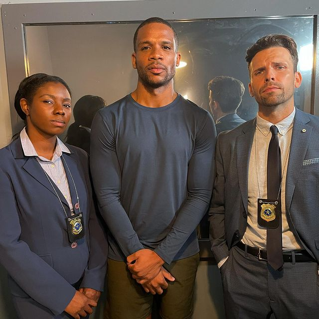 """Had the pleasure of shooting another great short with the @professionalhoodent team. Thanks for giving me the opportunity to get arrested lol. Big shoutout to my co-stars @meyonkasimone, @benjaminschnau, and @markheronvo. """"The One You Want"""" coming soon… 🎥 🍿 🎞  . . . . . . . . .  #blackactor #actor #blackactors #actorslife #blackactress #hollywood #actors #acting #blackhollywood #blackexcellence #film #blackfilms #blackcinema #actorlife #blackmodels #blexmedia #blackcreatives #imdb #blackartists #losangeles #blacknarrativesmatter #laactor #melanin #setlife #director #actress #actorsofinstagram #movielover #actorsaccess #malemodel"""