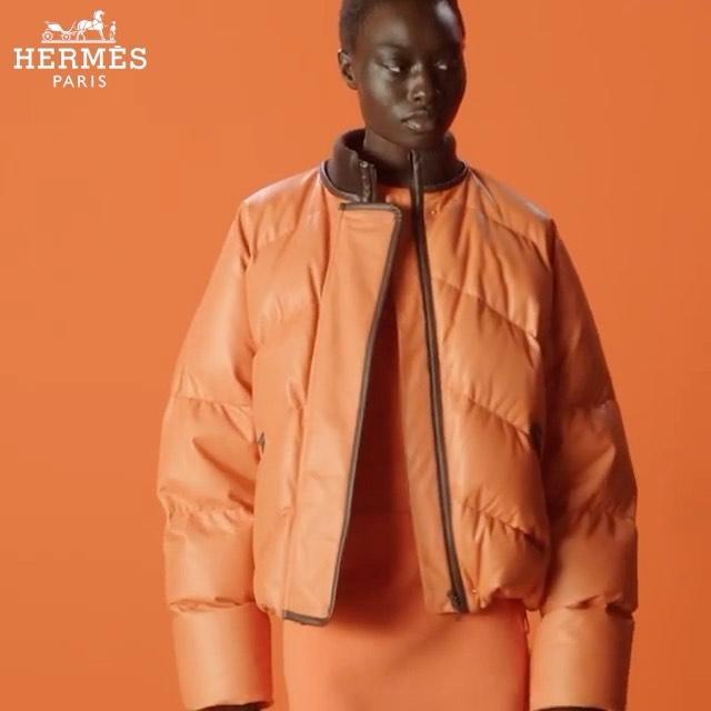 🧡 HERMES 🧡 Nyagua & Maryel (@maryeluchida ) for @hermes FW21 Collection #MiLKImage #MiLKNewFaces  . . .  @_mariechaix_ @roeethridge @carinafreystefaniebarth @anthonypreel_ @akemi_kishida @maximevalentini