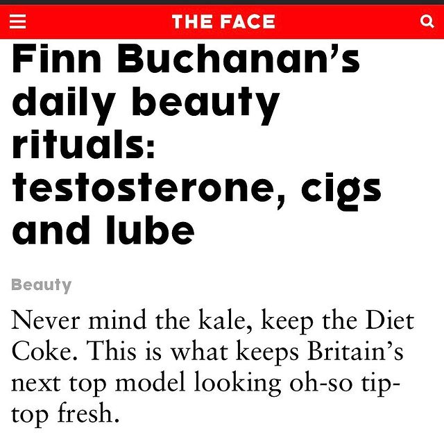 @thefacemagazine thankyou for giving my wisdom a platform x