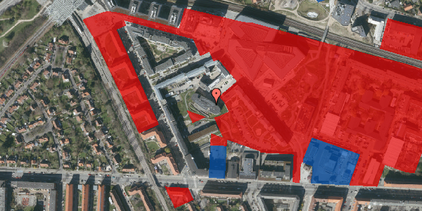 Jordforureningskort på Elga Olgas Vej 5, 2. 208, 2000 Frederiksberg