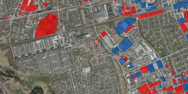 Jordforureningskort på Hvidkløvervænget 11, 2625 Vallensbæk