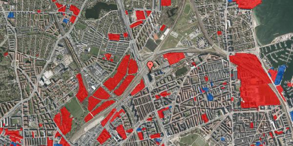 Jordforureningskort på Lyngbyvej 98, 2100 København Ø
