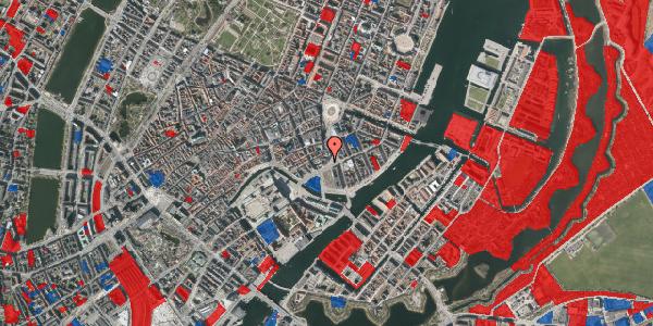 Jordforureningskort på Holmens Kanal 14, 1060 København K