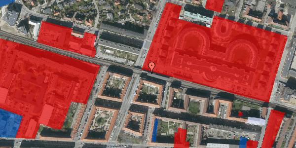 Jordforureningskort på Dalgas Boulevard 142, 2000 Frederiksberg