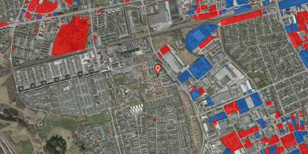 Jordforureningskort på Grønkløvervænget 57, 2625 Vallensbæk