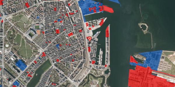 Jordforureningskort på Kalkbrænderihavnsgade 4C, 4. th, 2100 København Ø