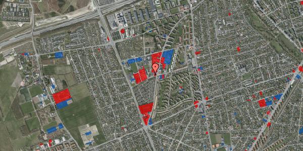 Jordforureningskort på Bibliotekvej 58, st. , 2650 Hvidovre