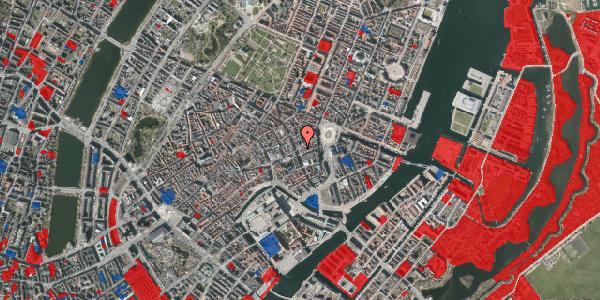 Jordforureningskort på Østergade 23, 1100 København K