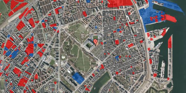 Jordforureningskort på Øster Allé 46, 2. , 2100 København Ø