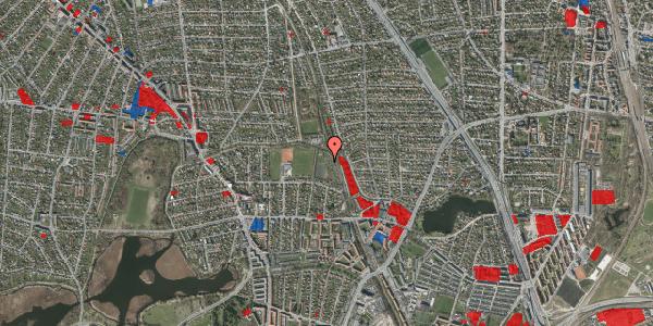 Jordforureningskort på Rødhalsgangen 22, 2400 København NV