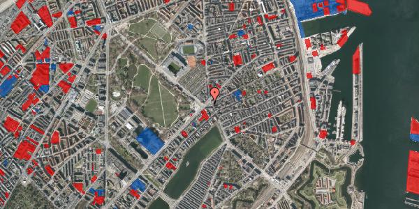 Jordforureningskort på Østerbrogade 29B, 2100 København Ø