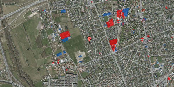 Jordforureningskort på Hf. Dahlia 51, 2650 Hvidovre
