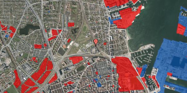 Jordforureningskort på Svanemøllens Kaserne 50, 2100 København Ø