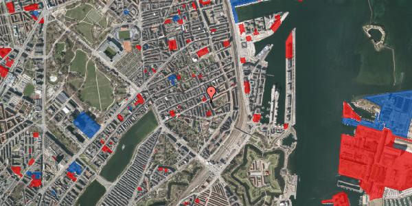 Jordforureningskort på Classensgade 50B, 2100 København Ø