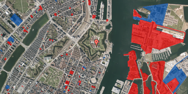 Jordforureningskort på Kastellet 30, 2100 København Ø