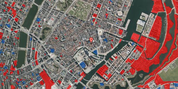 Jordforureningskort på Admiralgade 15, 1. tv, 1066 København K
