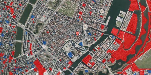 Jordforureningskort på Admiralgade 15, 3. th, 1066 København K