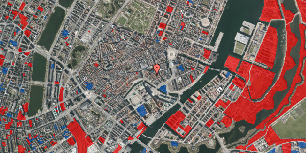 Jordforureningskort på Admiralgade 17, 2. th, 1066 København K