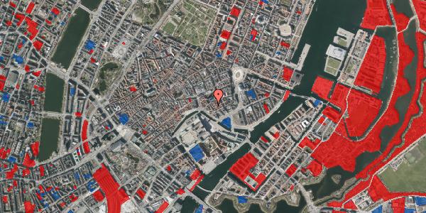Jordforureningskort på Admiralgade 19, 1. , 1066 København K