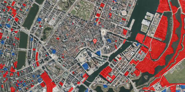Jordforureningskort på Admiralgade 19, 2. , 1066 København K
