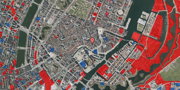 Jordforureningskort på Admiralgade 21, 1. , 1066 København K
