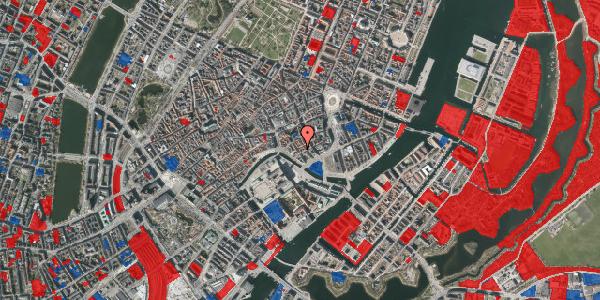 Jordforureningskort på Admiralgade 23, 1. , 1066 København K