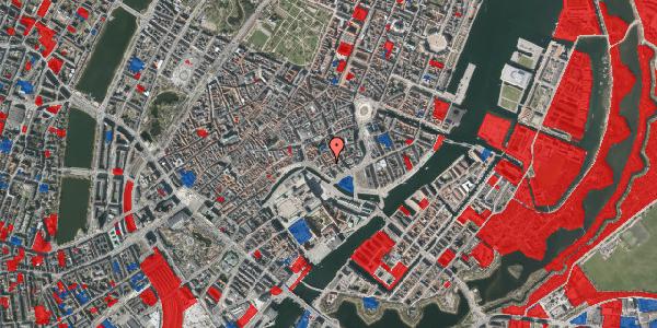 Jordforureningskort på Admiralgade 23, 3. , 1066 København K
