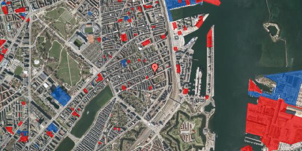 Jordforureningskort på Aggersborggade 1, 1. th, 2100 København Ø