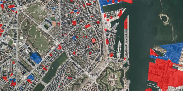 Jordforureningskort på Aggersborggade 2, 3. th, 2100 København Ø