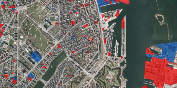 Jordforureningskort på Aggersborggade 3, 3. th, 2100 København Ø