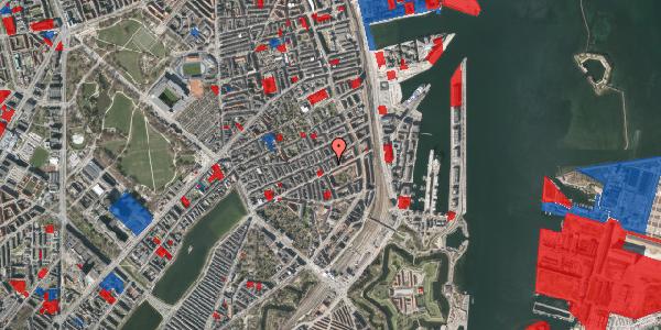 Jordforureningskort på Aggersborggade 4, 3. th, 2100 København Ø