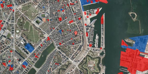 Jordforureningskort på Aggersborggade 4, 5. , 2100 København Ø