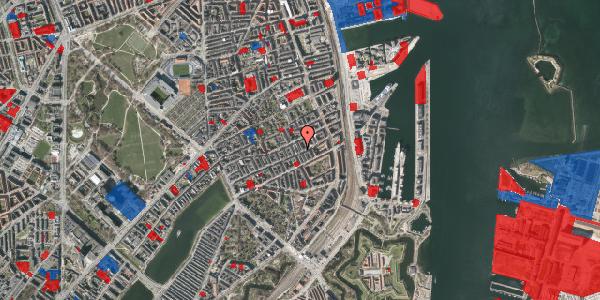 Jordforureningskort på Aggersborggade 5, 1. th, 2100 København Ø