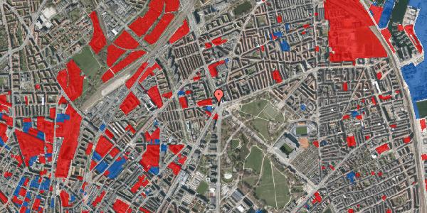 Jordforureningskort på Aldersrogade 1, st. , 2100 København Ø