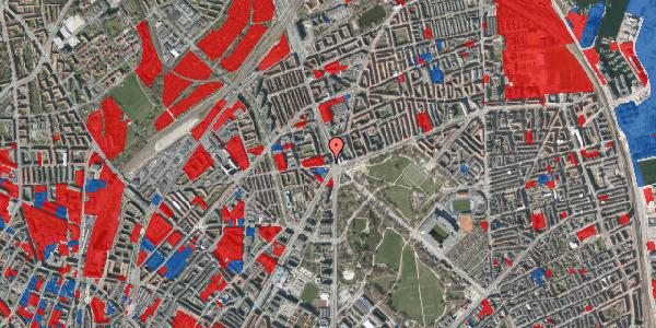 Jordforureningskort på Aldersrogade 2, 1. tv, 2100 København Ø