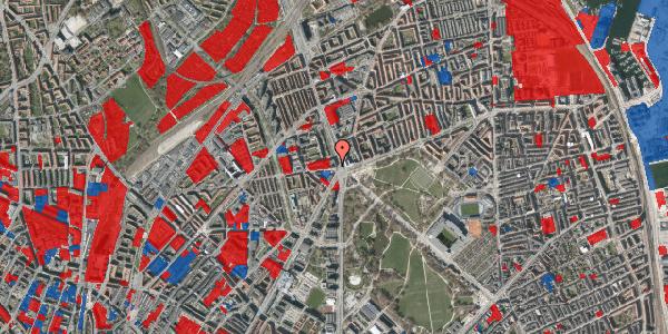 Jordforureningskort på Aldersrogade 2, 4. tv, 2100 København Ø