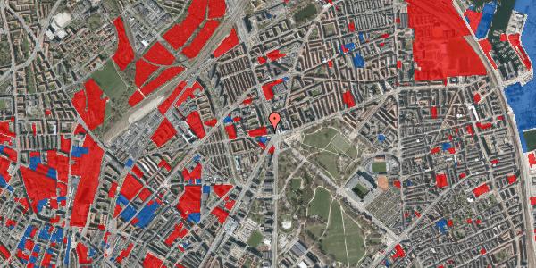 Jordforureningskort på Aldersrogade 4, 1. th, 2100 København Ø