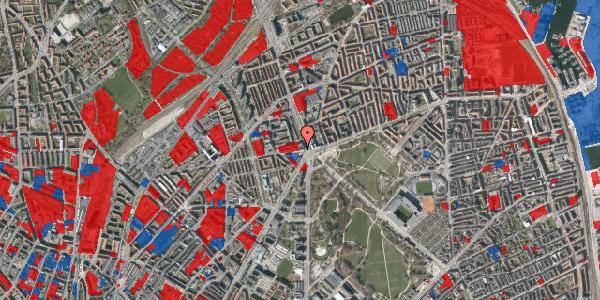 Jordforureningskort på Aldersrogade 4, 2. th, 2100 København Ø