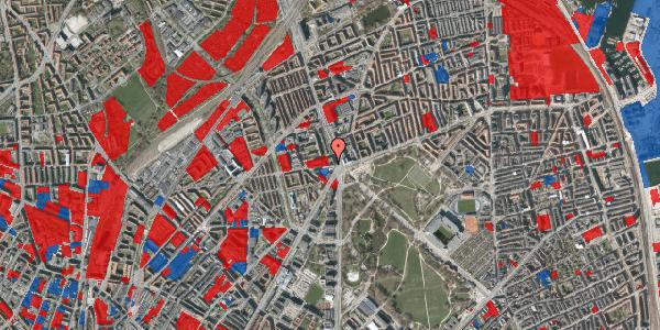 Jordforureningskort på Aldersrogade 4, 2. tv, 2100 København Ø