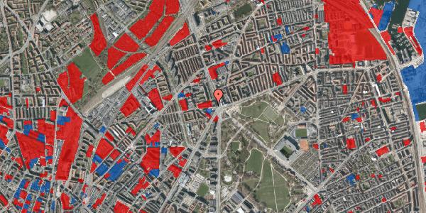 Jordforureningskort på Aldersrogade 4, 4. tv, 2100 København Ø